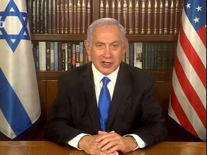 נתניהו בירך את ביידן והאריס: מצפה לעבוד יחד  20.1.21. לשכת העיתונות הממשלתית