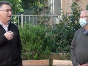 """בני בגין מצטרף למפלגתו של גדעון סער: הזדמנות להחליף את השלטון 21.1.21. קמפיין תקווה חדשה, יח""""צ"""