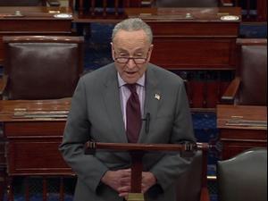 הסנאט אישר לדחות את משפטו של טראמפ בשבועיים 23.01.21. רויטרס