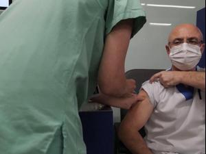 ישראל מובילה בעולם במבצע החיסונים נגד קורונה 24.1.21. רויטרס