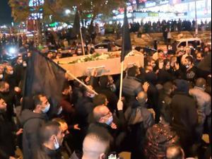 המחאה על היעדר אכיפה: מאות בהלוויית תושב אום אל-פחם שנרצח לאחר הפגנה בעיר 24.01.21. שלומי גבאי