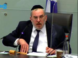 ועדת החוקה דנה בהעלאת הקנסות למפרי תקנות הקורונה 26.1.21. ערוץ הכנסת