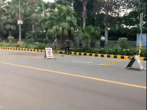 בווידאו: מטען חבלה התפוצץ ליד שגרירות ישראל בניו דלהי, אין נפגעים 29.01.21. רויטרס
