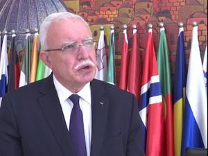 הפלסטינים מברכים על החלטת בית הדין בהאג להכיר ברשות הפלסטינית  7.2.21. רויטרס