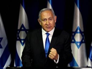 """נתניהו מגנה את החלטת בית הדין בהאג: """"אנטישמיות טהורה""""  7.2.21. רויטרס"""