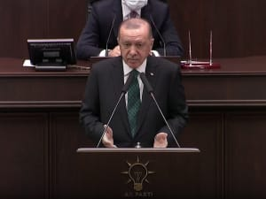 ארדואן תוקף את ראש ממשלת יוון לקראת חידוש השיחות לפתרון הסכסוך בקפריסין 10.02.21. רויטרס