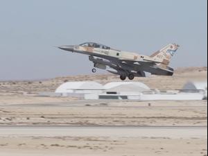 """חיל האוויר תרגל מלחמת פתע מול חיזבאללה  16.2.21. דובר צה""""ל"""