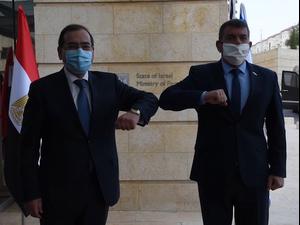 אשכנזי בפגישה עם שר הנפט והמשאבים המינרליים המצרי: מצפים לשיתוף הפעולה  21.2.21. משרד החוץ