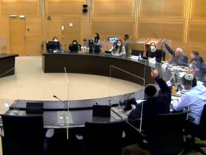 ועדת הבריאות אישרה את הצעת החוק להעברת מידע על מתחסנים 23.2.21. ערוץ הכנסת