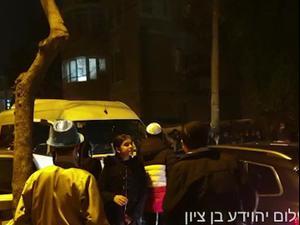 עשרות התפרעו בירושלים, גבר נהרג מפגיעת רכב הסעות  28.02.21. יהוידע בן ציון, אתר רשמי