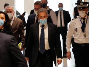 נשיא צרפת לשעבר סרקוזי נשלח לשנת מאסר אחרי שהורשע בשחיתות 1.3.21. רויטרס