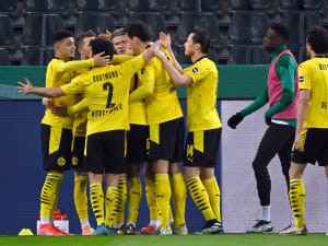 תקציר: בורוסיה מנשנגדלבאך - בורוסיה דורטמונד 1:0. רויטרס