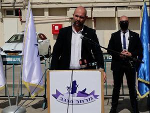 """אוחנה: """"מיעוט קטן בחברה הערבית מייצר כ-60 אחוז מהפשיעה בישראל"""" 3.3.21. צילום: שי מכלוף, שי מכלוף"""