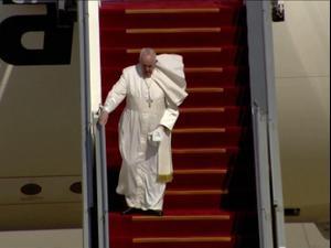 האפיפיור פרנציסקוס מבקר לראשונה בעיראק במסגרת המסע לשלום 5.3.21. רויטרס
