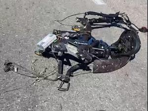 """חשד לפגע וברח: רוכב אופניים נדרס למוות בקרית ים 06.03.21. מד""""א, מערכת וואלה! NEWS"""