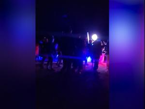 מסיבה בניגוד להנחיות בסמוך לנחל עציון 06.03.21. משטרה, מערכת וואלה! NEWS