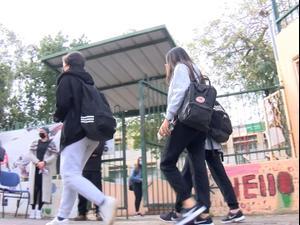 תלמידי כיתות ז'-י' חזרו ללימודים בישובים ירוקים, צהובים וכתומים  7.3.21. ניב אהרונסון