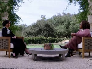 הריאיון של מייגן מרקל והארי עם אופרה ווינפרי ברשת CBS  08.03.21. רויטרס