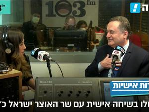 """בחירות אישיות - טל שלו בשיחה עם שר האוצר ישראל כ""""ץ 8.3.21. ניב אהרונסון"""