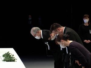 יפן מציינת עשור לאסון הצונאמי בפוקשימה  11.03.21. רויטרס