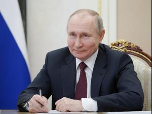 """פוטין עונה לביידן אחרי שכינה אותו רוצח: """"מאחל לו בריאות"""" 18.3.21. רויטרס"""