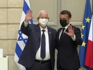 הנשיא מקרון: איראן חייבת להפסיק את ההפרות של הסכם הגרעין. רויטרס