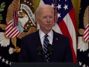 ביידן מכפיל את היעד: 200 מיליון מחוסנים לקורונה בתוך 100 ימים 25.3.21. רויטרס