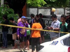 """ביום הראשון של """"השבוע הקדוש"""": מחבל מתאבד התפוצץ ליד כנסייה באינדונזיה 28.3.21. רויטרס"""