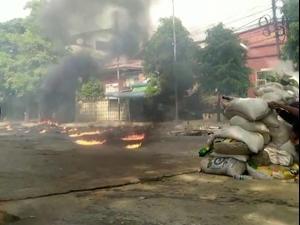 היום הקטלני ביותר מאז ההפיכה: עימותים בין מפגינים לכוחות הביטחון במיאנמר 28.03.21. רויטרס