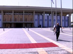 הכנות אחרונות במשכן לקראת השבעת הכנסת ה-24 05.04.21. ניב אהרונסון