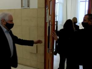 היום השני בשלב ההוכחות במשפט נתניהו: התביעה אומרת שישועה קיבל איומים 6.4.21. שלומי גבאי