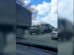רוסיה מעבירה כוחות צבאיים לגבול עם אוקראינה   08.04.21. טוויטר, אתר רשמי