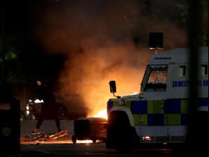 הברקזיט הפר את האיזון: גל אלימות מטלטל את צפון אירלנד 08.04.21. רויטרס