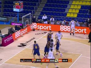 תקציר: ריאל מדריד - ברצלונה 85:87. ספורט 2
