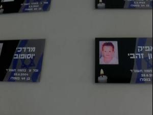 יום הזיכרון: משפחות הרוגי הקסאם הראשון בשדרות חוזרות לרגעי האסון   14.04.21. אין, שי מכלוף