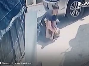 מאבטח בתי יהודים בסילוואן תועד תוקף גבר, המשטרה פתחה בחקירה. -, אתר רשמי