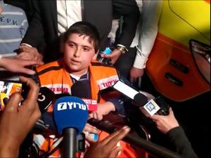 """אחיו של ידידיה בן ה-13 שנהרג במירון: """"הזעקתי כוחות שיצילו את אבא"""". יהודה גוטליב ערוץ 7, אתר רשמי"""