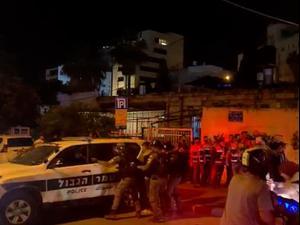 המחאה נגד פינוי משפחות פלסטיניות: שישה נעצרו בעימותים בשיח ג'ראח. מאיה הורודניצ'אנו