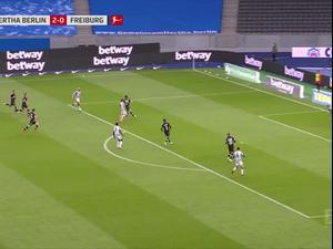 תקציר: הרטה ברלין - פרייבורג 0:3. ספורט 2