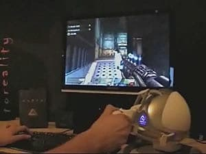 Quake IV with Falcon