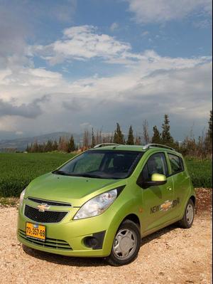 מסודר שברולט ספארק, מכונית עירונית קטנה ובסיסית - וואלה! רכב OD-03