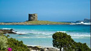חוף ים באי סרדיניה