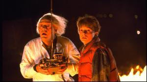 """בחזרה לעתיד. נטפליקס, יח""""צ"""