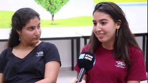 נועם וירדן, תלמידות אורט מודיעין
