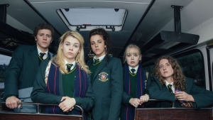 "קטע מתוך ""Derry Girls"", נערות דרי (יח""צ , Channel 4)"