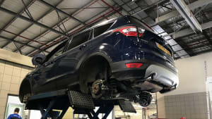 פורד קוגה מבחן ארוך טווח: במוסך