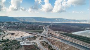 מקטע כביש 6 החדש יקנעם-תל קשיש