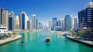 מרינה בדובאי איחוד האמירויות הערביות