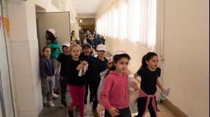 תרגיל צונאמי בבית ספר בתל אביב, 12 במרץ 2019