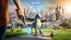 Harry Potter: Wizards Unite הארי פוטר (צילום מסך)